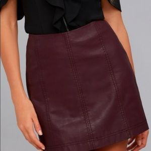Free People Mini Skirt Size 4